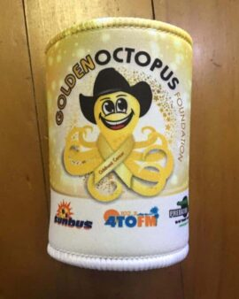 Golden Octopus Foundation supporter cooler